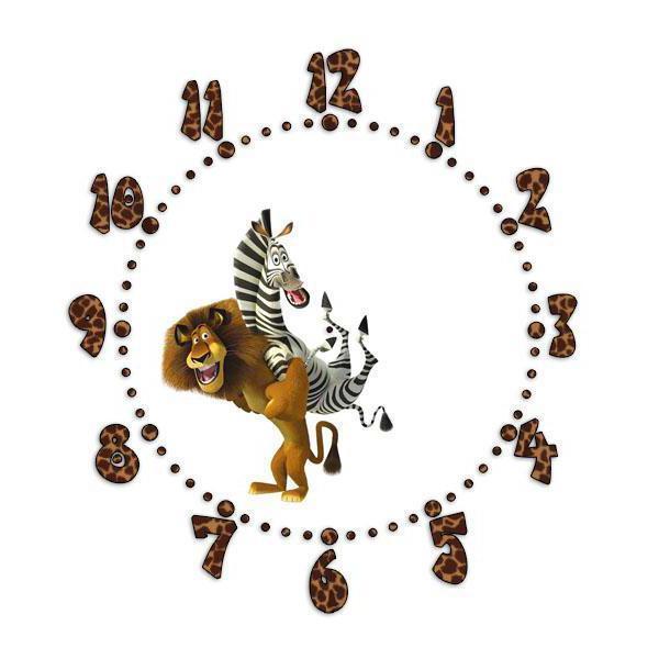 Часы мадагаскар, часы