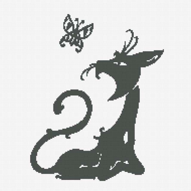 Чёрная кошка, предпросмотр