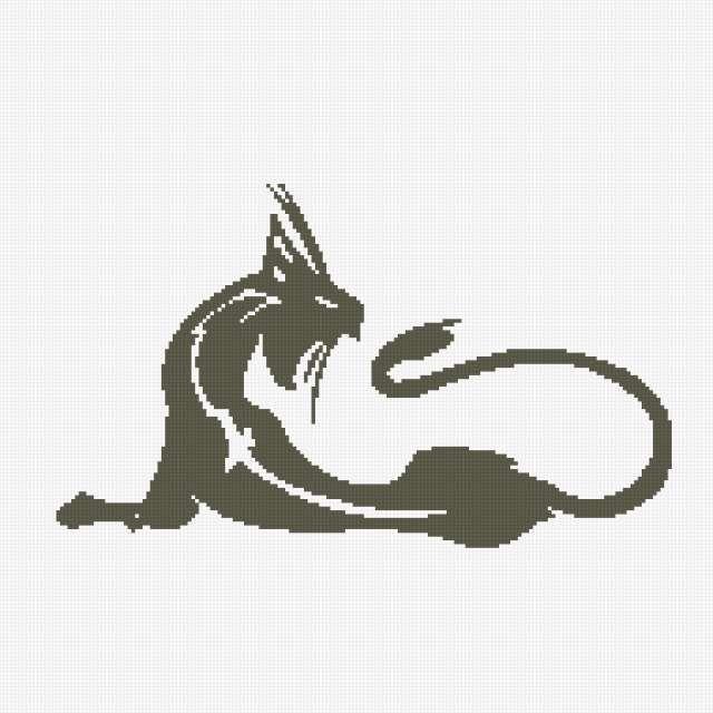 Чёрная кошка, кошка, зверь