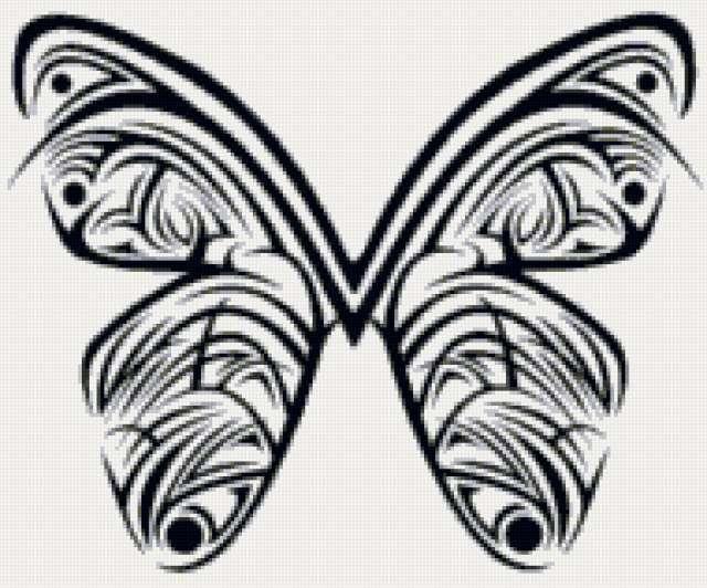 Бабочка, татуировка, животные