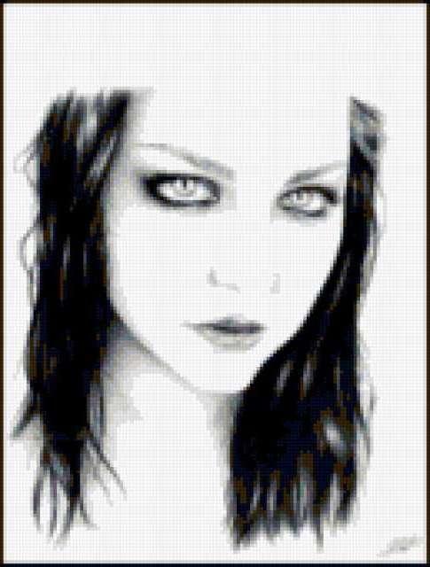Портрет девушки 1, картина,
