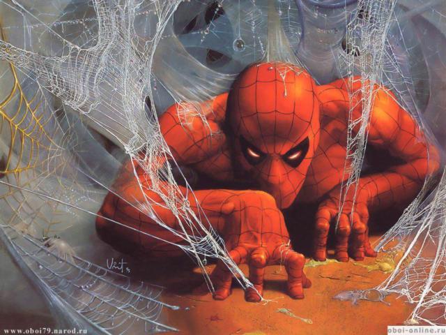 Человек паук, мультик, сказка