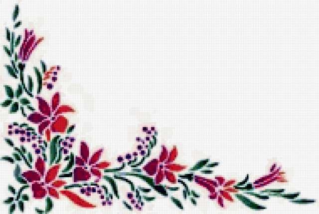 Цветочный узор 6, предпросмотр