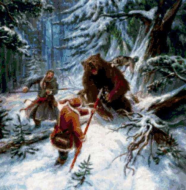 Охота на медведя, предпросмотр