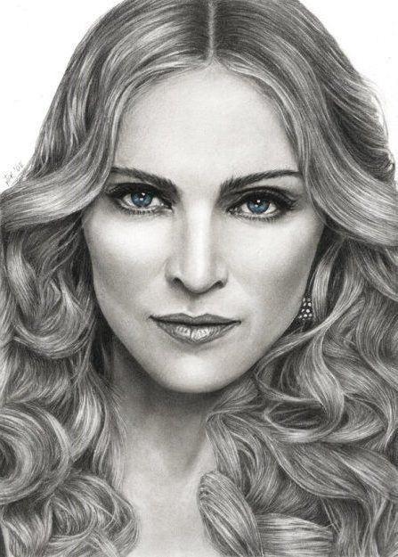 Мадонна, картина, рисунок