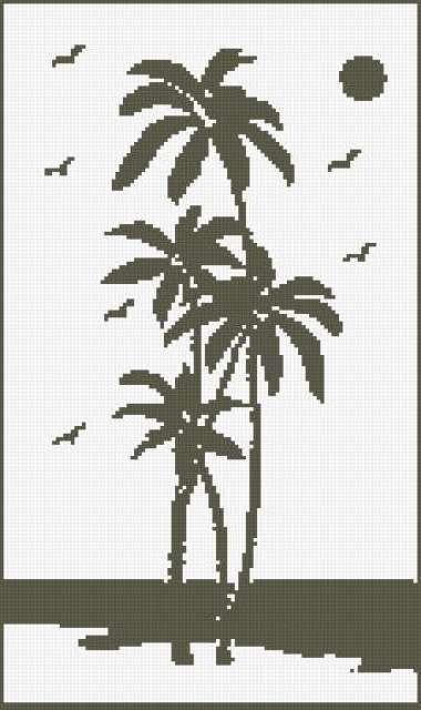 Пальмы, предпросмотр