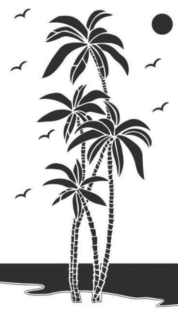 Пальмы, оригинал