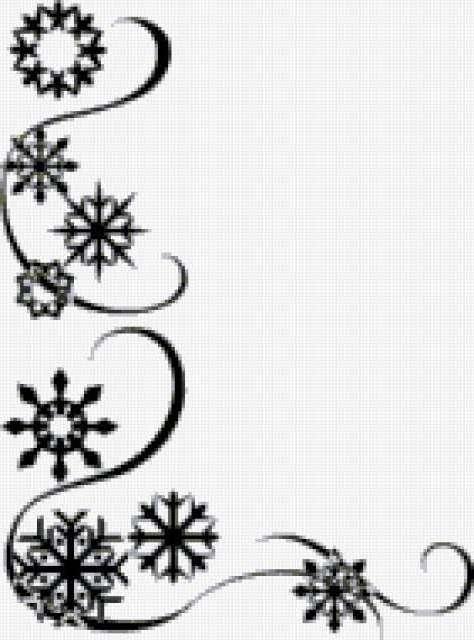 Снежинки, предпросмотр