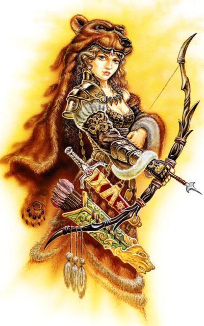 Девана, богиня охоты, оригинал