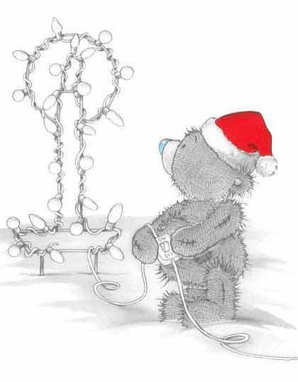 Мишка Тедди. Свеча, оригинал