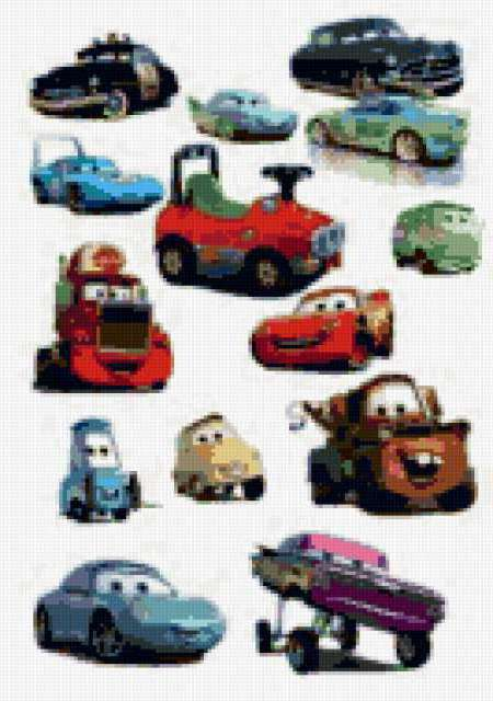 Машинки, мультик, детское
