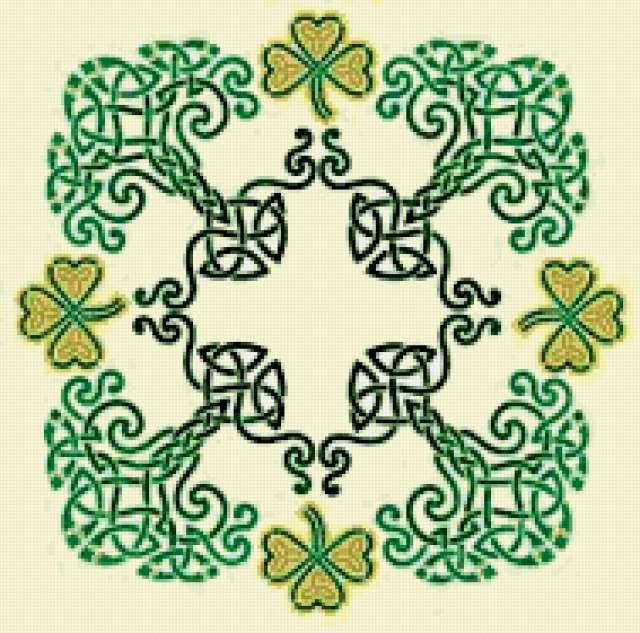 Кельтский узор, предпросмотр