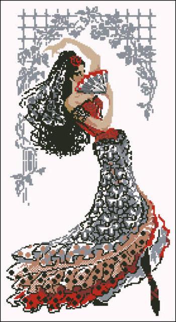 Кармен, танцовщица, балет