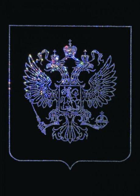 Герб РФ, оригинал. герб России