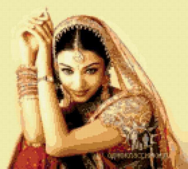 Индия, девушка, индия, танец