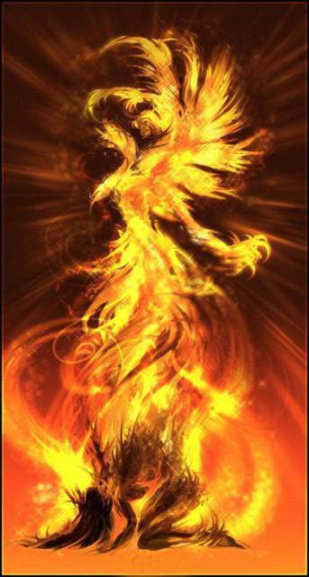 Сгорание и возрождение Феникса