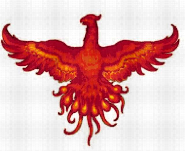 Огненная птица Феникс