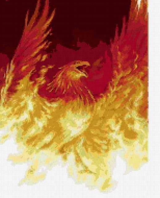 Птица Феникс 5, птица, феникс,