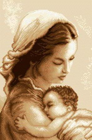 Мама и малыш, оригинал