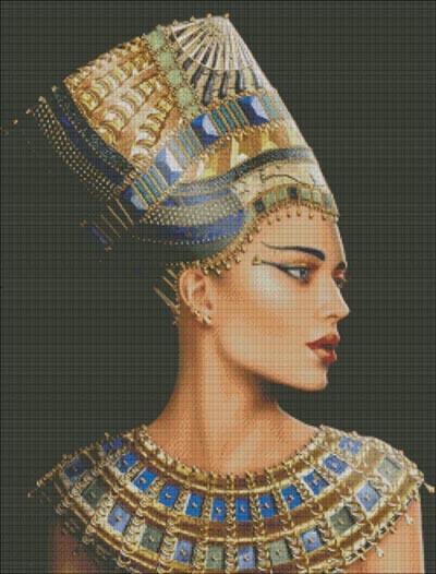 Схема вышивки крестом в египет