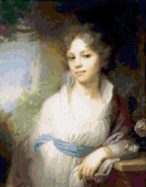 Княгиня М.И.Лопухина,