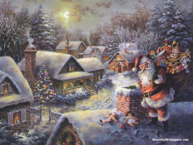 Рождественская ночь, рождество