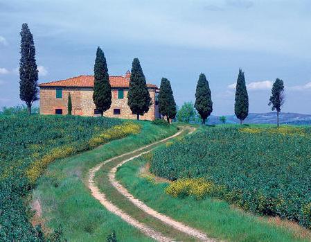 Тоскана, оригинал