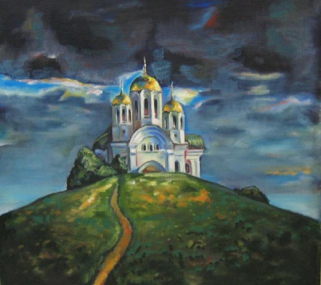 Дорога к храму, церковь, храм,