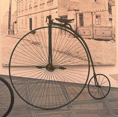 Ретро велосипед, оригинал