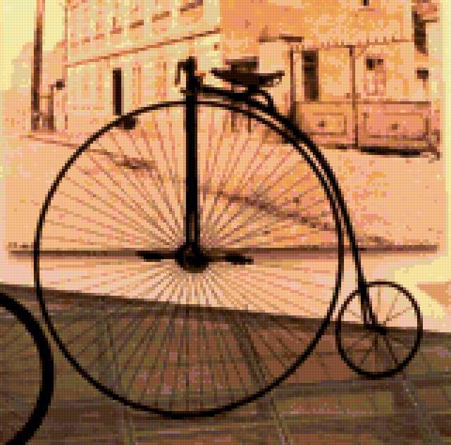 Ретро велосипед, предпросмотр