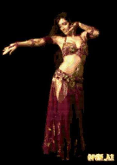Танец красавицы, восток, танец