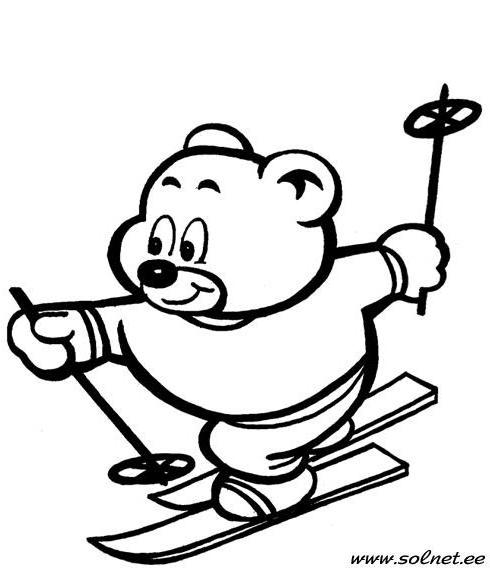 Мишка-спортсмен, оригинал