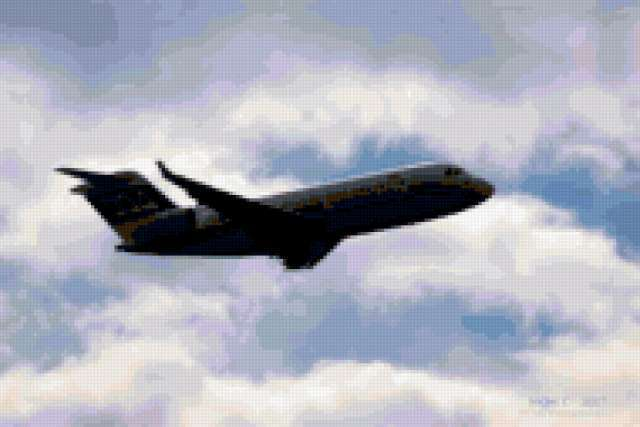 Самолет, предпросмотр