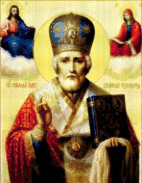 Св. Николай Чудотворец, икона