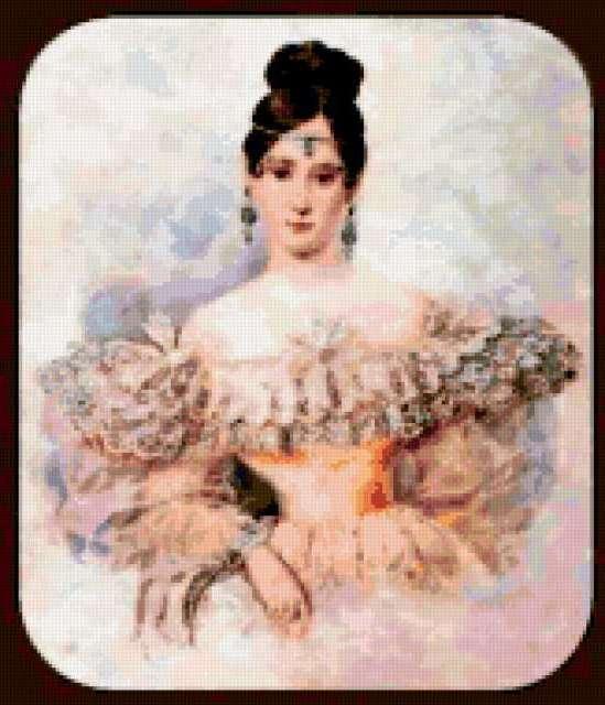 Портрет Натальи Гончаровой