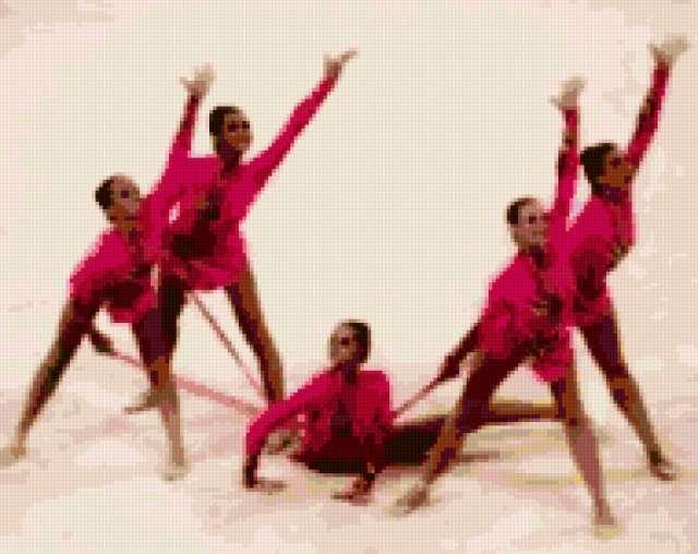 Гимнастки, предпросмотр
