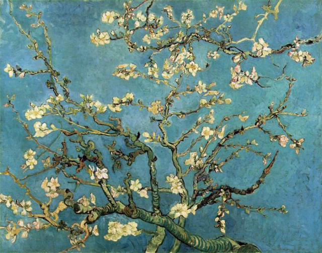 Ван Гог Ветви цветущего