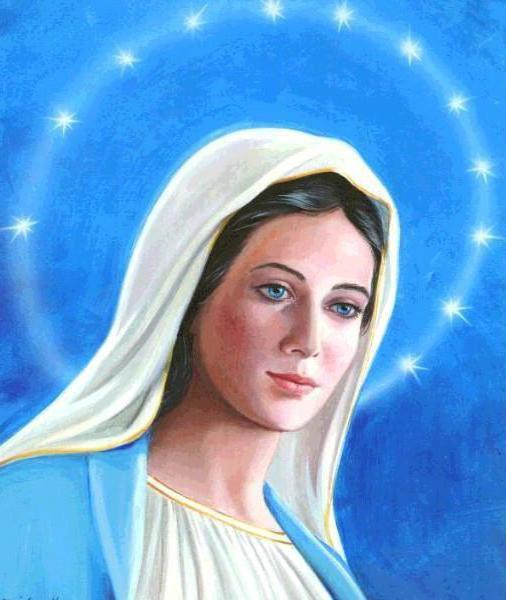 Дева Мария, девушка