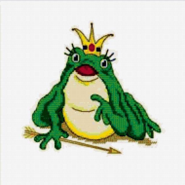 царевна-Лягушка, лягушка