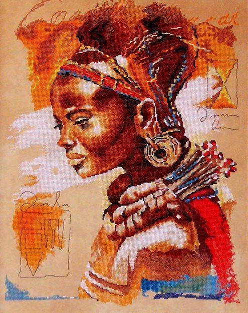 Afrikanka, африка