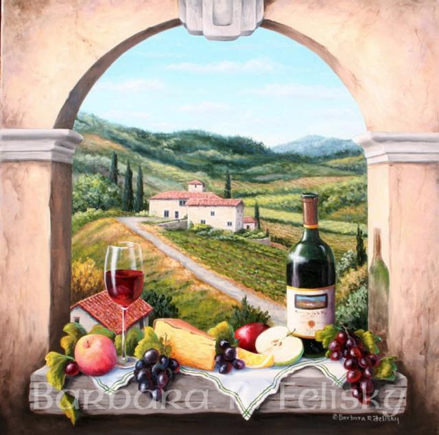 тоскана, италия, оригинал