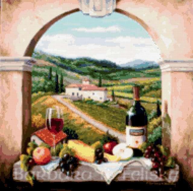 тоскана, италия, предпросмотр