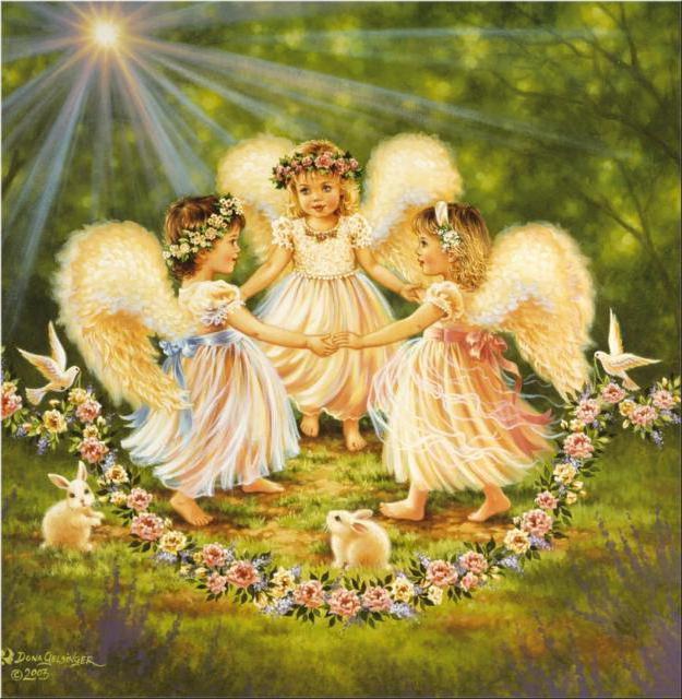 Три ангела, оригинал