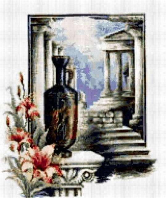 Греческая амфора, предпросмотр