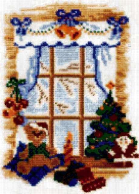 Зимнее окно, предпросмотр