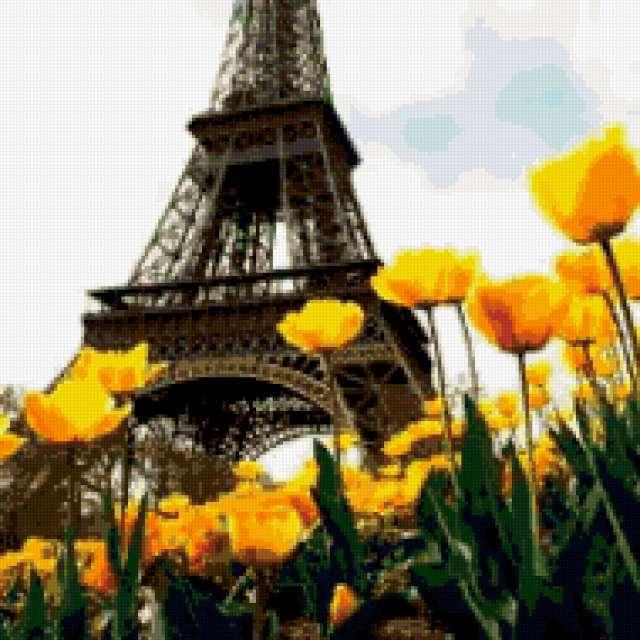 Париж Эйфелева башня, города,