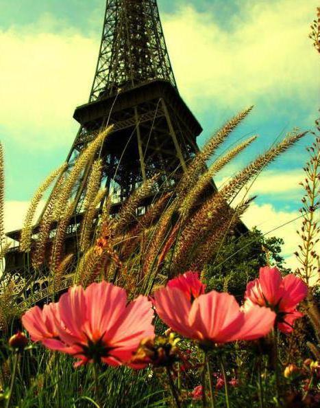 Париж Эйфелева башня, оригинал