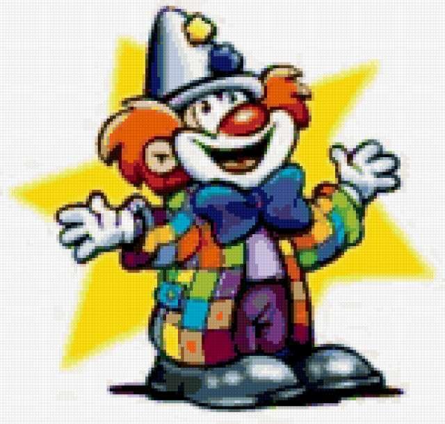 Веселый клоун, предпросмотр