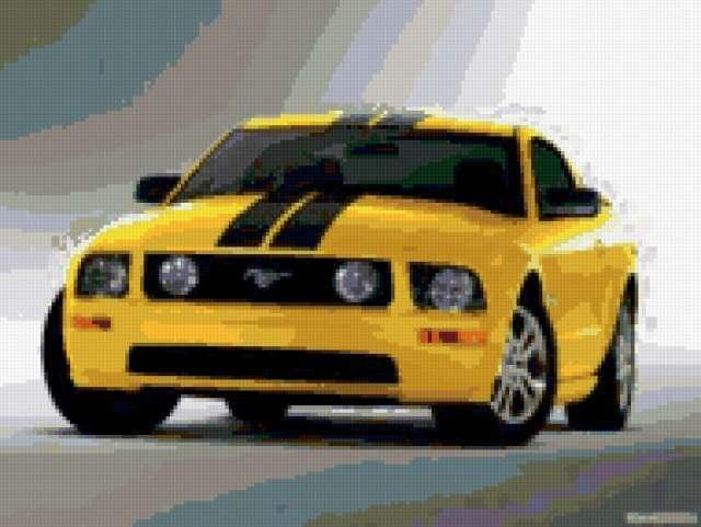 Ford mustang, предпросмотр
