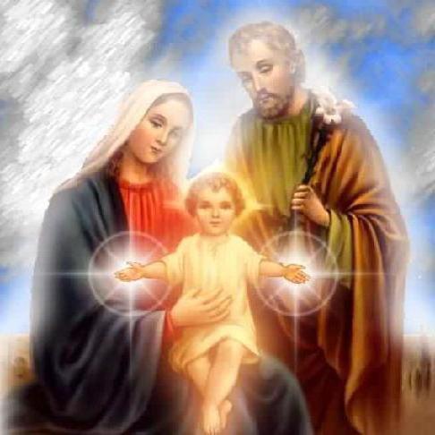 МАРИЯ И ИОСИВ С ИИСУСОМ,